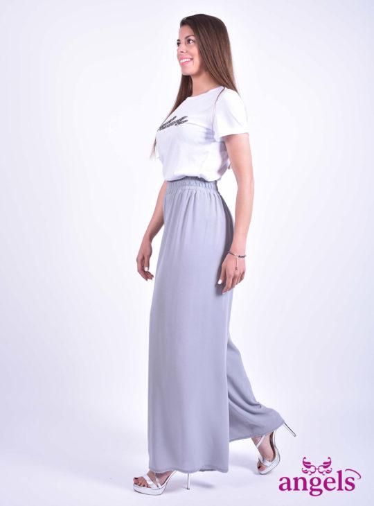 Γκρι Γυναικεία Παντελόνα||Γυναικεία Ρούχα||Παντελόνες