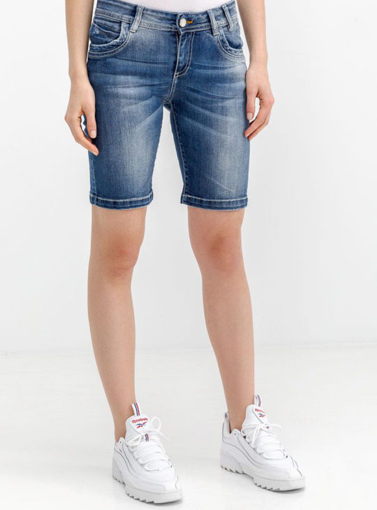 Γυναικείο Τζιν Σορτς Edward Jeans||Γυναικεία Σορτσάκια