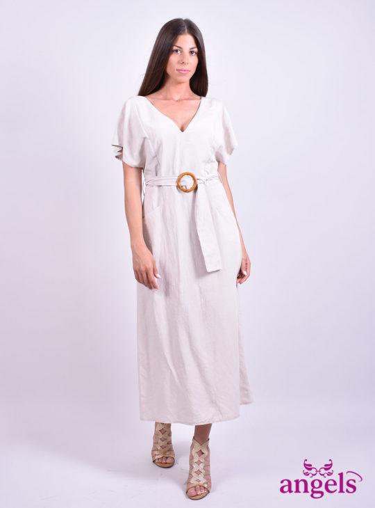 Μπεζ Φόρεμα||Φορέματα