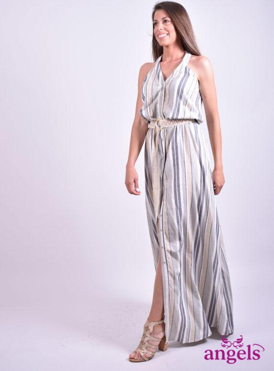 Ριγέ Φόρεμα  Φορέματα
