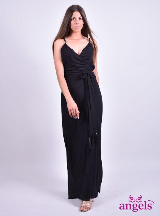 Μαύρο κρουαζέ  Φορέματα