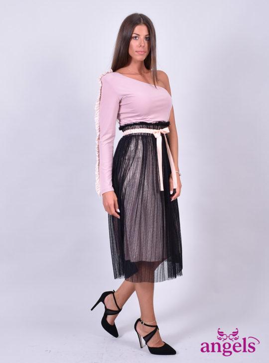 Φούστα Μίντι με Τούλι Le Vertige||Le Vertige For Angels Fashion