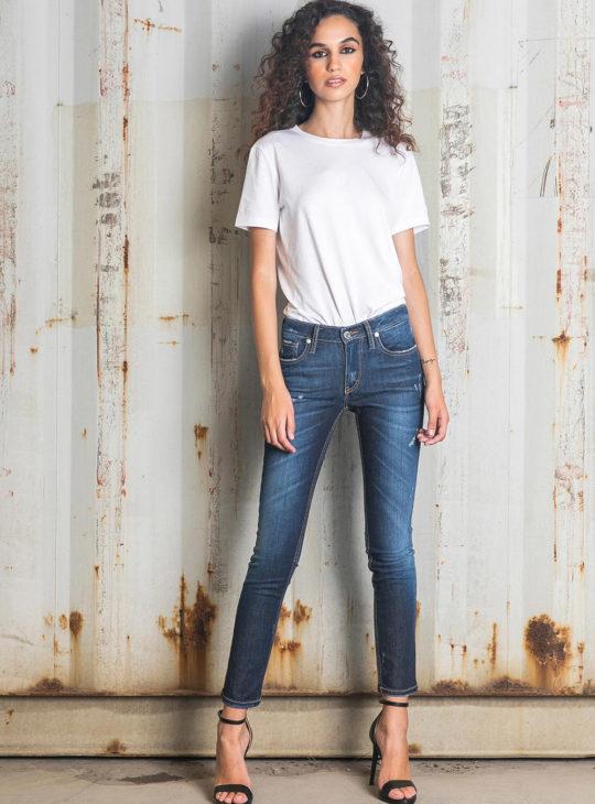 Γυναικείο τζιν παντελόνι Slim Fit New Denim|| Γυναικεία Τζιν
