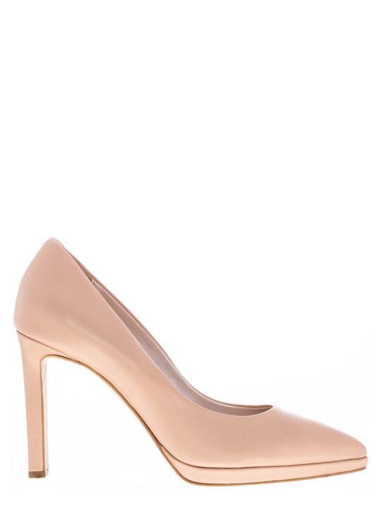 Δερμάτινες Γόβες Nude Fardoulis Shoes||Γυναικεία Παπούτσια Fardoulis