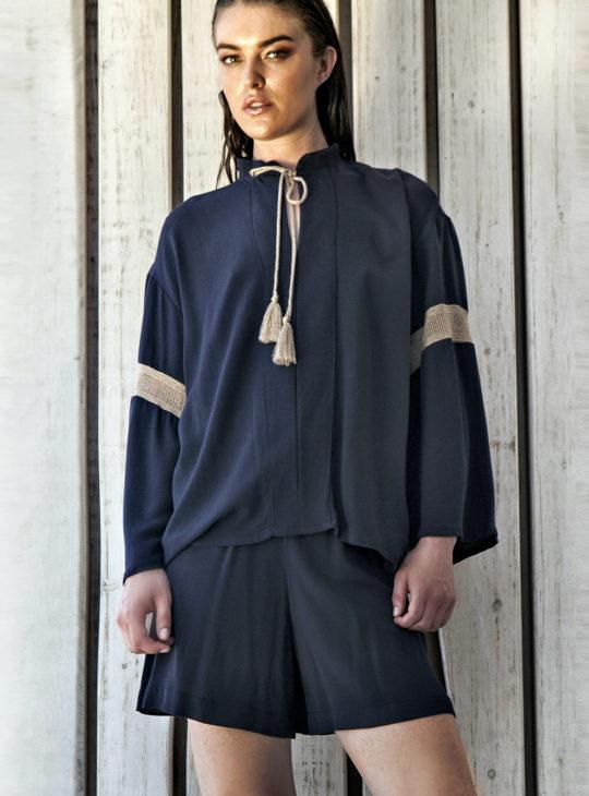 Ethnic Boho Μπλούζα AGGEL