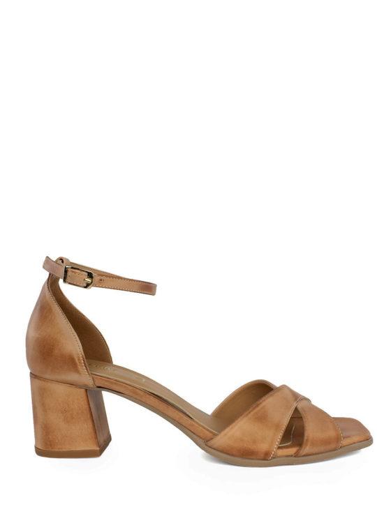 Ταμπά Δερμάτινα Πέδιλα Fardoulis Shoes 74125