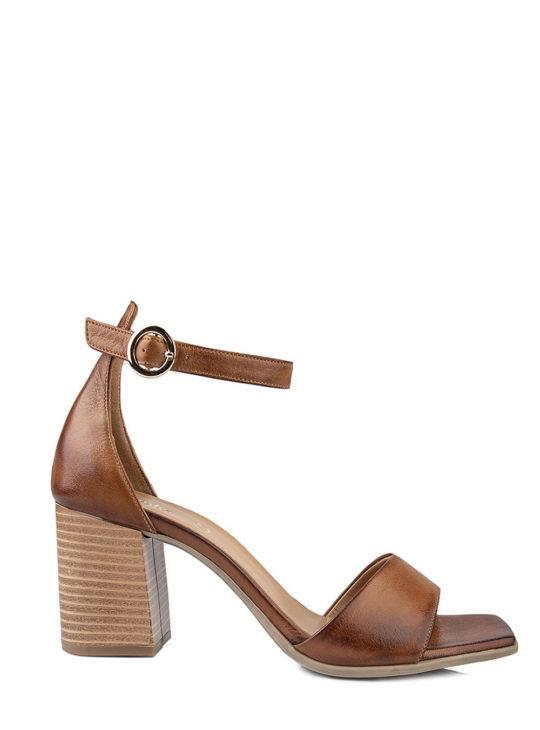 Δερμάτινα Ταμπά Πέδιλα Fardoulis Shoes 76230