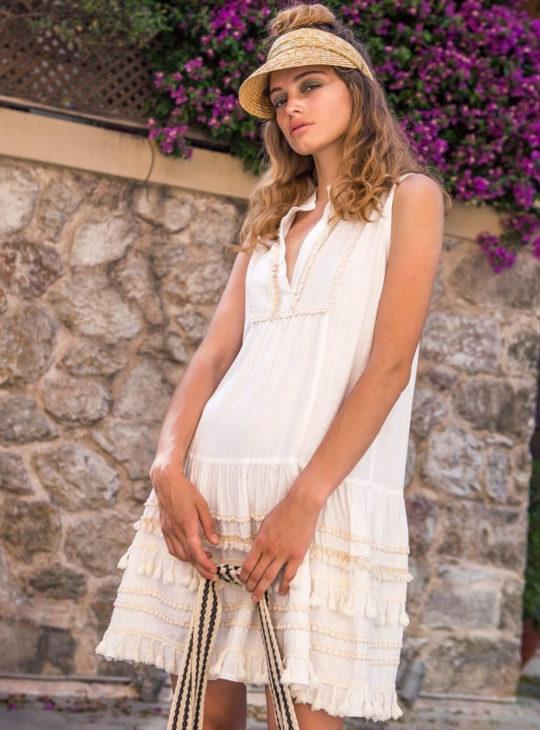 NEMA Φόρεμα Λευκό