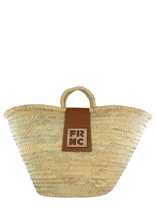 Τσάντα FRNC ψάθινη ||Γυναικείες Τσάντες