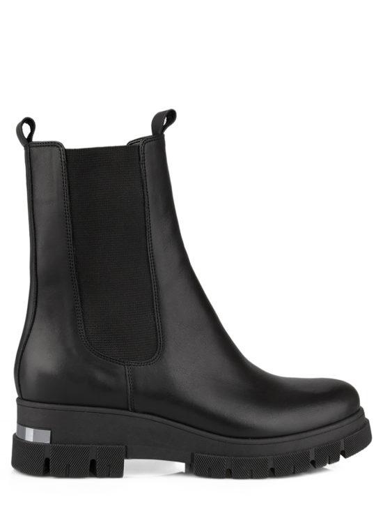 Δερμάτινα Μαύρα μποτάκια Chelsea boots