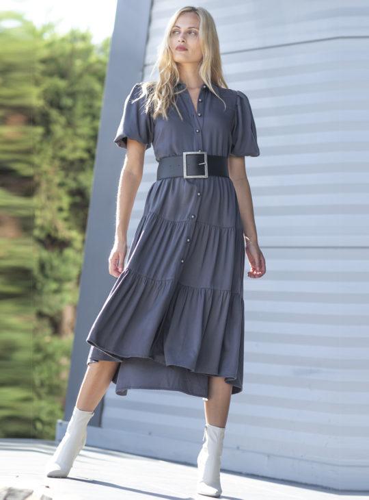Γκρι Φόρεμα Le Vertige