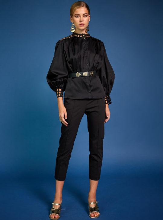 Μαύρο παντελόνι NEMA