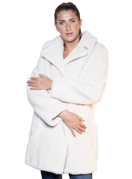 Γυναικείο teddy παλτό Splendid Fashion