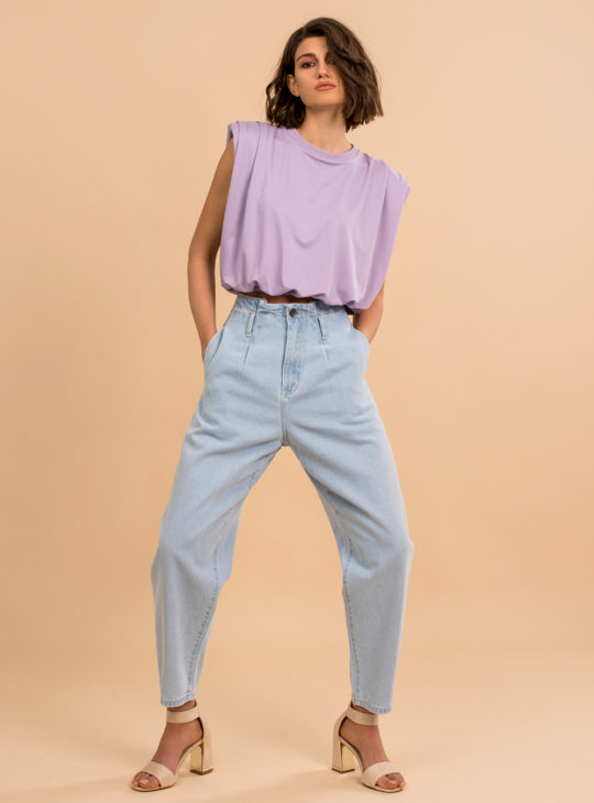 SAC&CO JEANS ROX Τζιν slouchy παντελόνι