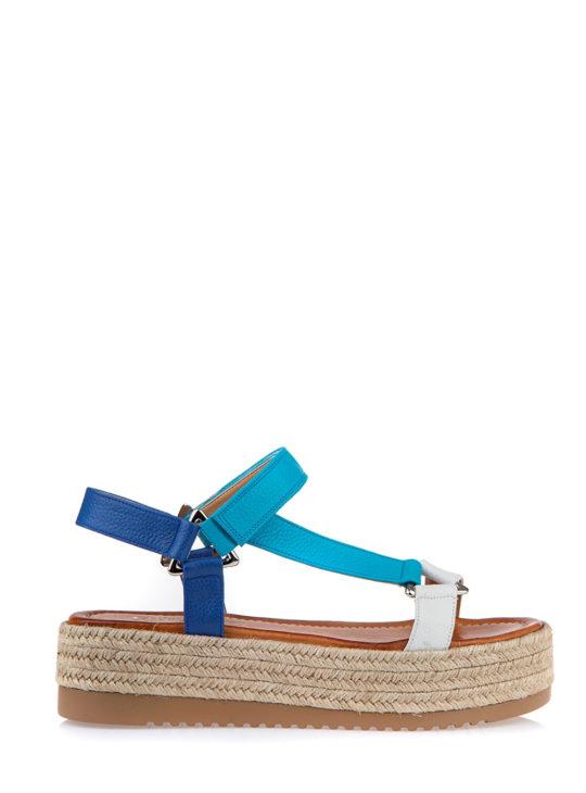 Flatforms δερμάτινα Fardoulis Shoes