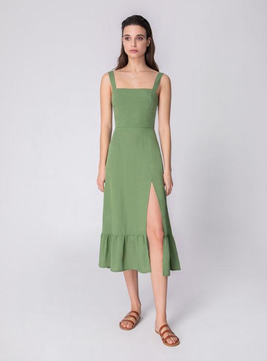 Χακί Φόρεμα
