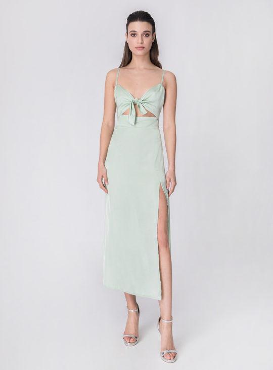 Φόρεμα Στο χρώμα της Μέντας