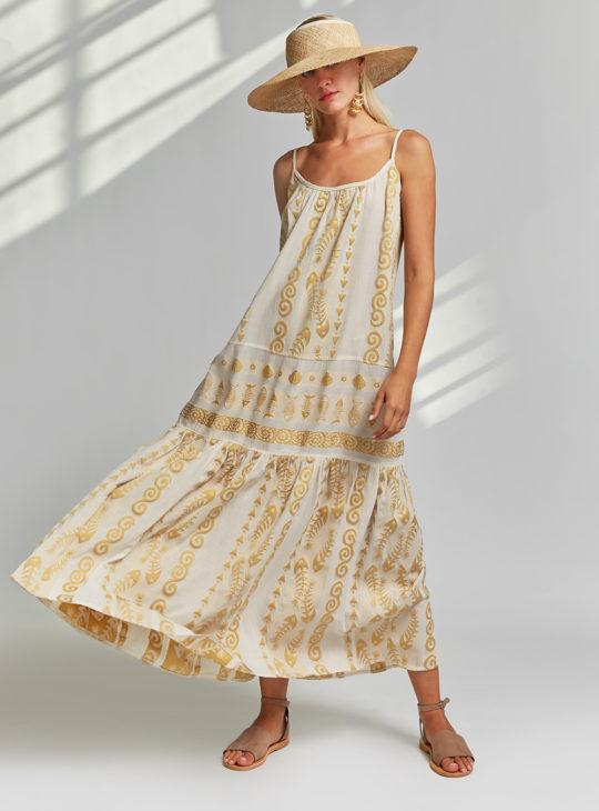 NEMA Μπεζ Φόρεμα||NEMA RESORT WEAR || ΦΟΡΕΜΑΤΑ