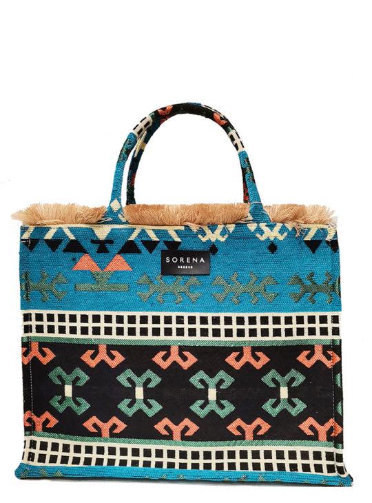 SORENA ATHINAIS||Χειροποίητη Τσάντα Knossos||RESORT Bags